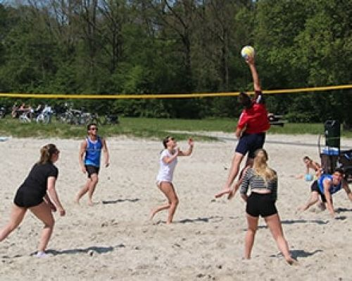 Volleyballen